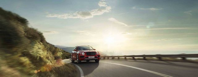 The New Bentayga V8. Powerful Performance Redefined.