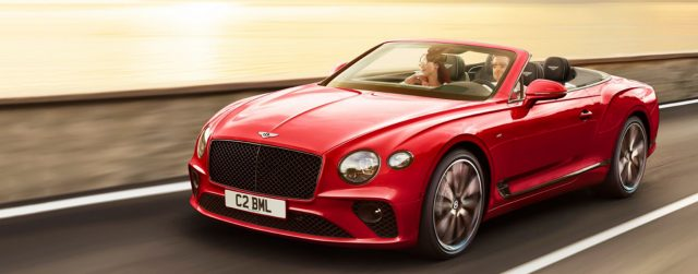 The All New 2021 Bentley Continental GTCs Have Arrived