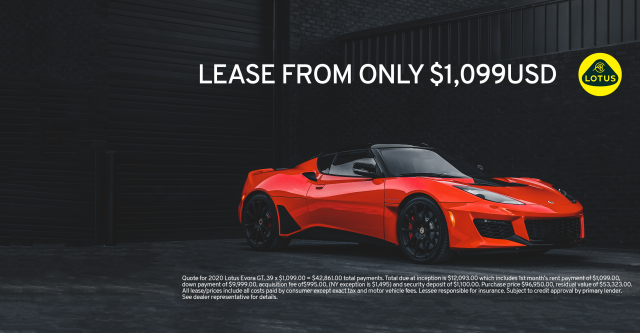 EVORA GT: Trade Your Typical For Something Colorful.